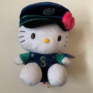 Sanrio Seattle Mariners Hello Kitty plush